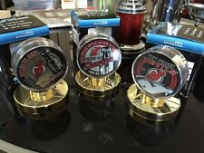 Lot Of 3 NJ Devils Championship Hockey Pucks With Holders