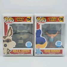 IN HAND Funko Pop Looney Tunes Bundle Wile E. Coyote + Road Runner + Protector