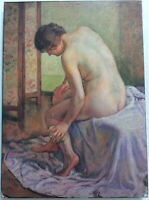 La Toilette Theo Van Rysselberghe Art Print On Board FoundArtShop.com