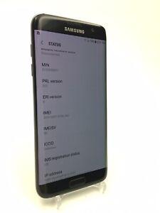 Samsung Galaxy S7 edge - 32GB - Black Onyx ( Verizion + Unlocked ) Pink line