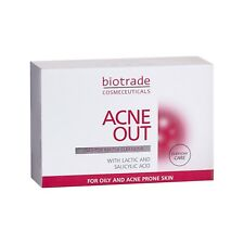 Biotrade Acne out Soap Bar 100g for Oily Skin Removes Pimples and Blackheads