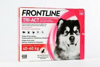 Frontline Tri-Act Chien 40-60Kg traitement puces,tiques et insectes volants 3pip