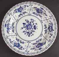 Johnson Brothers INDIES BLUE Chop Plate (Round Platter) 4053851