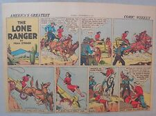Lone Ranger Sunday Page by Fran Striker and Charles Flanders from 9/8/1940