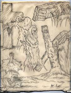 Eternal Grave halloween illustration by Markham