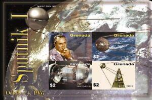 Grenada - 2006 - Space Sputnik - Sheet Of 4 - MNH
