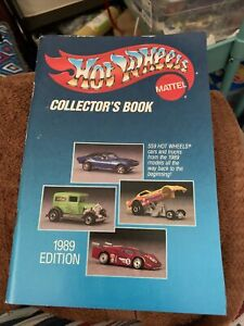 HOT WHEELS MATTEL COLLECTOR'S BOOK 1989 EDITION  /74 PAGE CATALOG