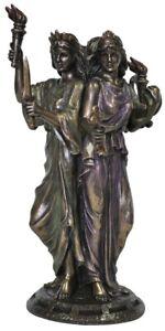 Hekate Hecate Triple Goddess Veronese Bronze Statue Figurine Wiccan Altar