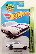 2014 Hot Wheels '68 White Copo Camaro SS 224/250!