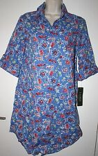Ralph Lauren Roll Sleeve Sleepshirt, S