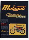 Pubblicità 1973 MALAGUTI CAVALCONE CROSS MOTO MOTOR advert werbung publicitè