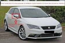 Seat Leon Mk3 OEM(New) Wing Mirror Cover L/H Or R/H Painted 2013-17