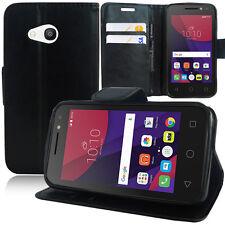 """Schutz Hülle für Alcatel Pixi 4 (4) 4.0"""" Handy Brieftasche Flip Case Cover"""