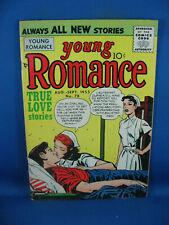 YOUNG ROMANCE VOL 8 # 6 F SIMON KIRBY 1965