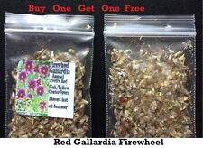 Buy 1 Get 1 Free Red Wild Firewheel Gallardia Flower Way Over 200 Seeds 4 U