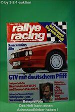 Rallye Racing 1/85 Alfa GTV Zender Opel Kadett VW Polo
