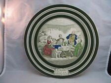 David Coperfield Dickens Adams plate. Mr. Micawber