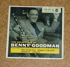Single The golden Age of Benny Goodman RCA EPB 1099-1