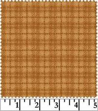 Shadow Play  Woolies  Flannel - Orange Small Plaid F18502-OO
