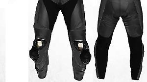 Motorbike/Motorcycle Black Leather Racing Pants/Trouser-MotoGp