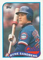 Ryne Sandberg 1989 Topps #360 Chicago Cubs baseball Card