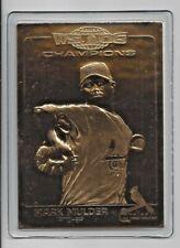 Mark Mulder 2007 Danbury Mint Cardinal World Series Sealed 22 Kt Gold Card