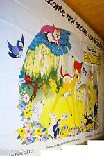 BAMBI   ! walt disney  affiche geante 3x4m
