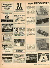 1966 ADVERT Corgi Toy Batmobile Lionel Hudson Locomotive Electric Train