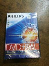 Philips DVD+RW Blank Recording Discs ~Brand New