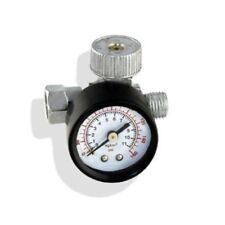 "2 PACK 1/4"" In Line Air Regulator w/ Pressure Gauge HVLP Paint Gun Tool Control"