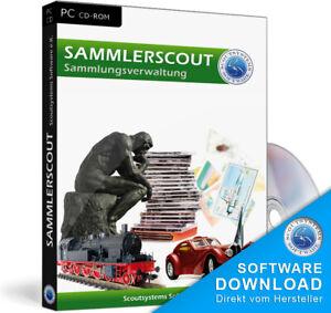 Sammler Software,Archivierungsprogramm,Schnäppchen Sammlerprogramm für Raritäten