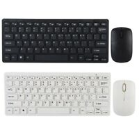 78 Keys Wireless Silm Keyboard and Cordless Optical Mouse for PC Laptop Smart TV