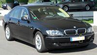 Neuf Véritable BMW 7 E65 E66 E67 Avant Pare-Choc Gauche Rein Grille Bord 8223219