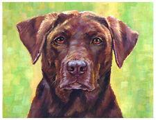 artav Labrador Retliever 01 Art Print of Oil Canvas