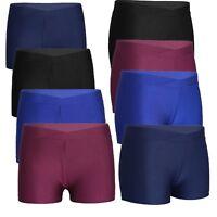 Kids Girls Ballet Dance Shorts Sports Gymnastics V-front Casual Pants Beachwear