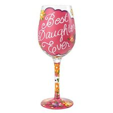 Lolita 4054094 Best Daughter Ever Wine Glass
