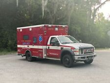 Ford F450 4x4 Ambulance 2008 6.4 Diesel Fl Truck 1 Owner Road Rescue Fleet