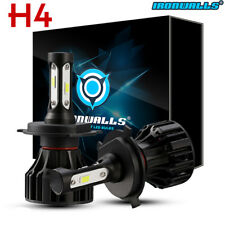 Cree H4 9003 1400W LED Headlight Conversion Kit 6500K 210000LM Bulb HI-LO Beam