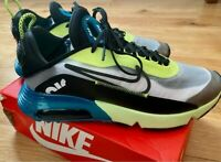 Nike Air Max 2090 Trainers In White/Black/Volt Mens UK Size 11 - New in Box