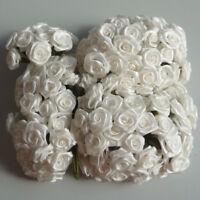 Diorröschen 144er Bund Satinröschen Rose Hochzeit Taufe ivory