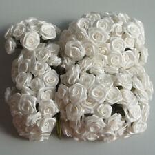 Diorröschen 12er Bund Satinröschen Rose Hochzeit taufe Ivory