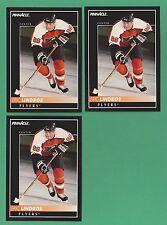 Lot of (3) 1992-93 Pinnacle Eric Lindros Philadelphia Flyers #88