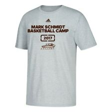 St. Bonaventure Bonnies NCAA Mark Schmidt Basketball Camp Men's Grey T-Shirt