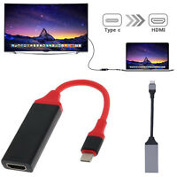 Type C To HDMI TV HDTV Cable Adapter For Samsung Galaxy S8 S9 S10 S10e Macbook