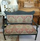 Late 19th Century antique Victorian settee couch bench
