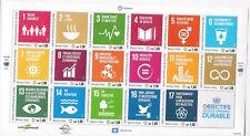 UN Scott #Geneva 629, Sheet w/Folder & Mounts 2016 Complete Set FVF MNH