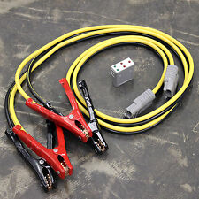 JUMPER TESTER 12 FT HEAVY DUTY 400AMP ANDERSON CABLE LEAD SYSTEM BATTERY BOOSTER