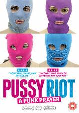 DVD:PUSSY RIOT - A PUNK PRAYER - NEW Region 2 UK