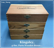 New listing Kingsley Machine ( 4-Sm. Parts Wooden Boxes ) Hot Foil Stamping Machine