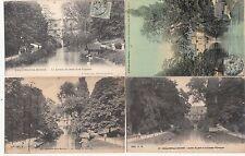 Lot 4 cartes postales anciennes CHÂLONS-SUR-MARNE caisse d'épargne